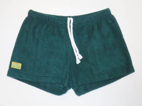 Ladies Duke Fleece Shorts - Green