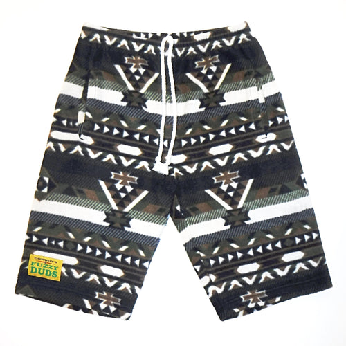 Mens - Green Aztec