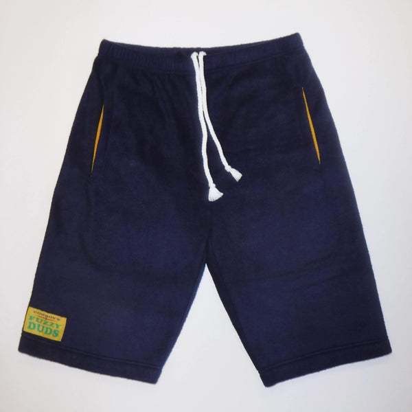 Mens - Navy with Yellow Pockets - Fuzzy Duds