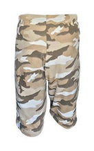 Load image into Gallery viewer, Mens Fleece Shorts - Sand Camo