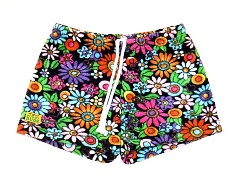 Ladies Duke Fleece Shorts - Wild Flower