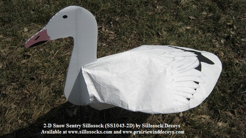 Sentry Snow Goose Windsocks 2D- Dozen