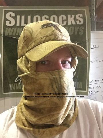 Fleece Facemask in Prairiehide