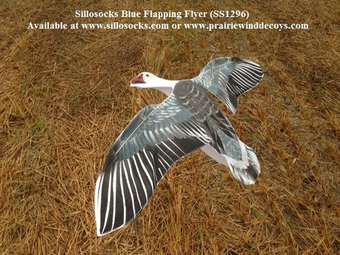 Blue Goose Flapping Flyer