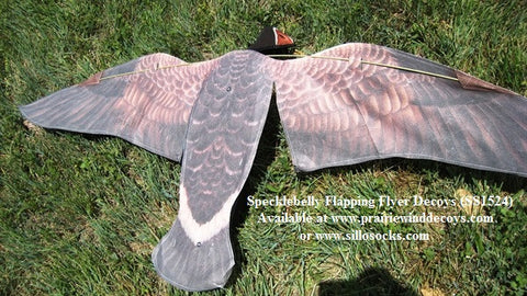 Specklebelly Goose Flapping Flyer