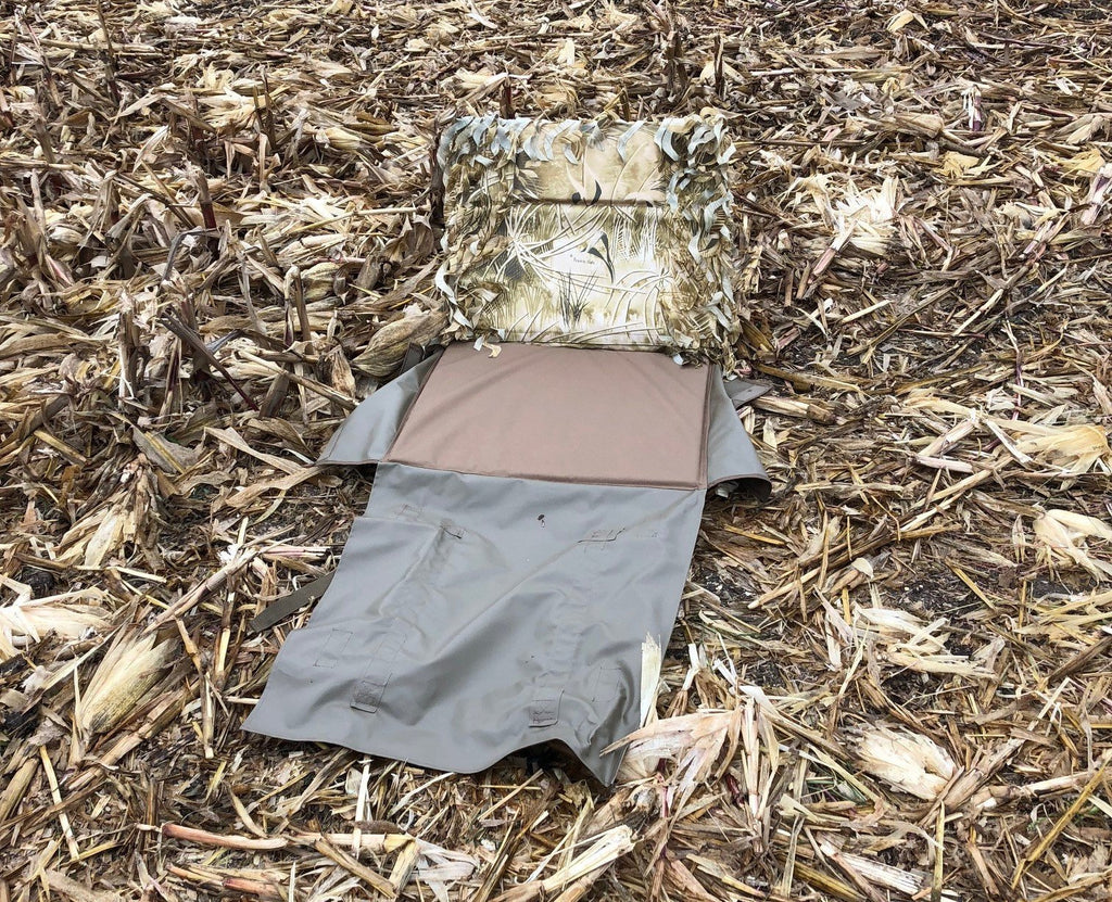Backpack Ghillie Layout Blind  with out blanket
