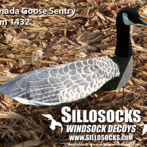 3-D Sentry Canada Goose Windsocks - Dozen