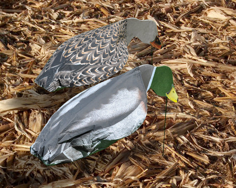 Feeder Mallard Duck Windsocks - Dozen