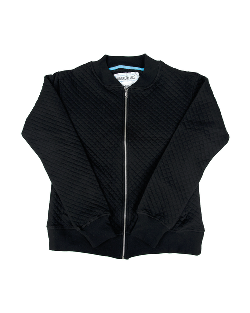 Cruiser Quilted Bomber Jacket