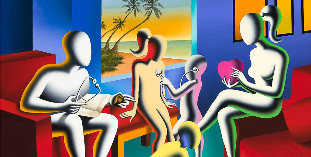 Martin Lawrence Galleries - 10 Travel Questions with Mark Kostabi