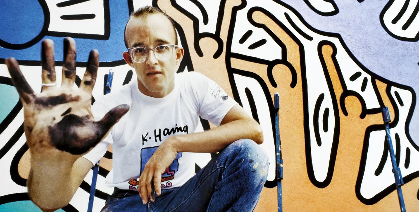 The public has a right to art': the radical joy of Keith Haring