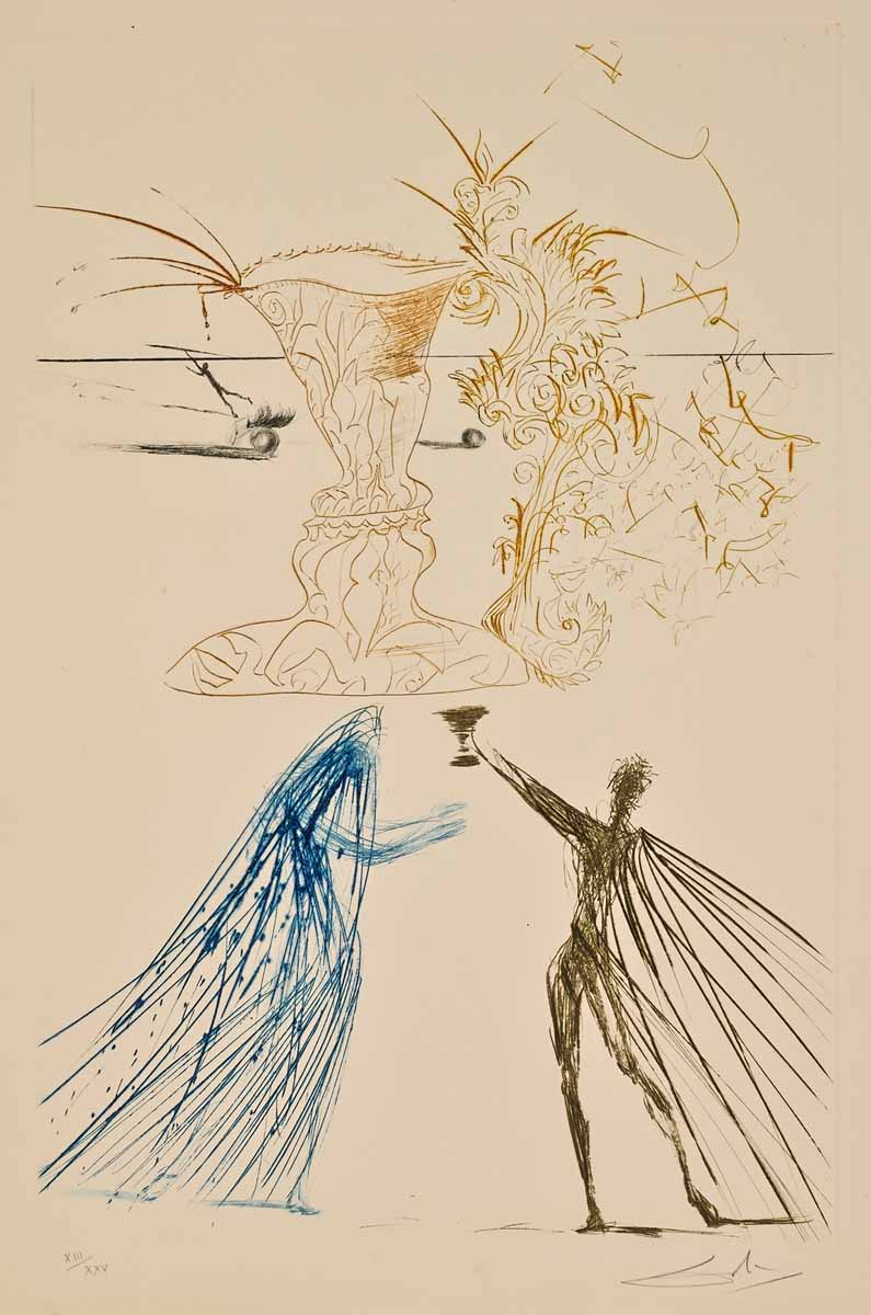 Dali's Tristan and Iseult Suite – Martin Lawrence Galleries