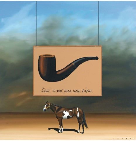 The Paint Horse: Magritte
