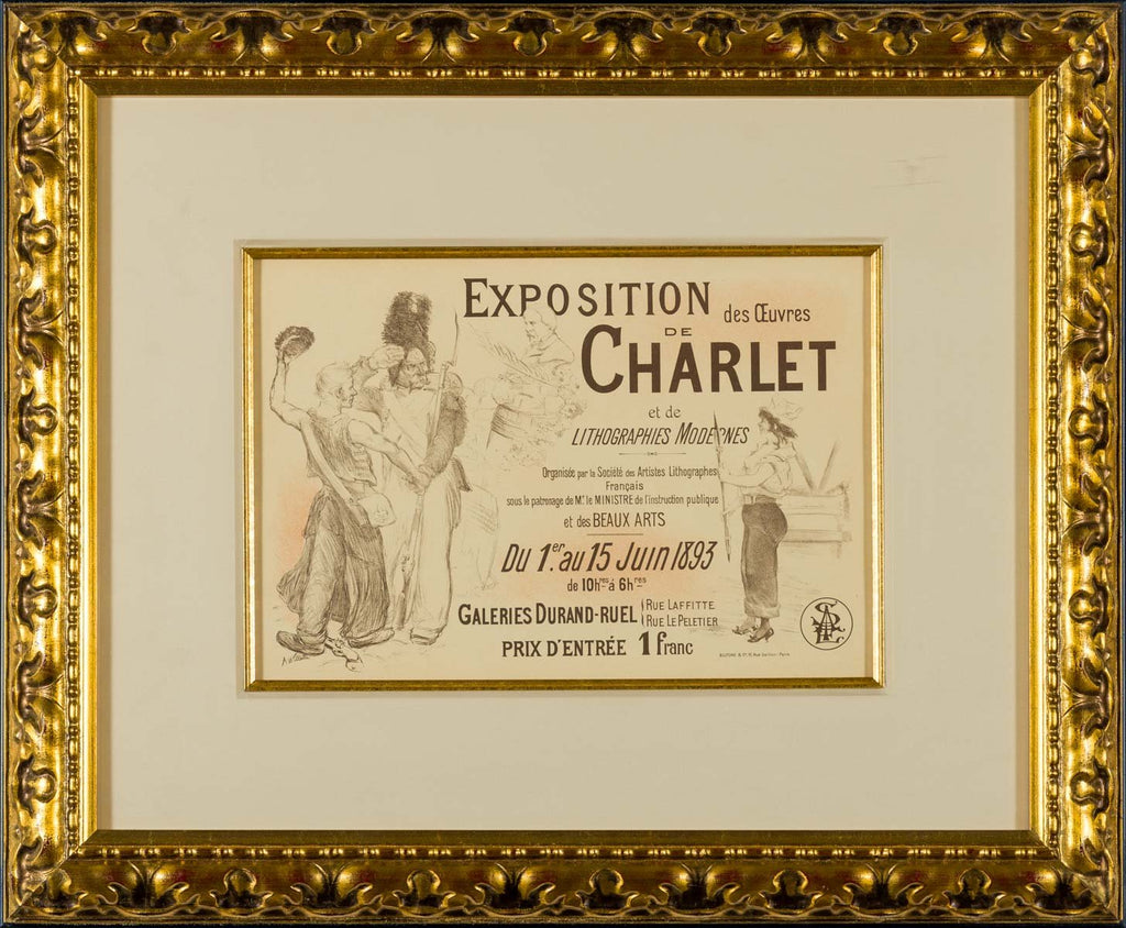 Exhibition of the Works of Charlet (Plate 194)
