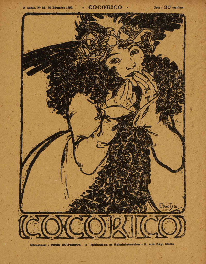 Untitled (Cocorico #24, 30 Decembre 1899)