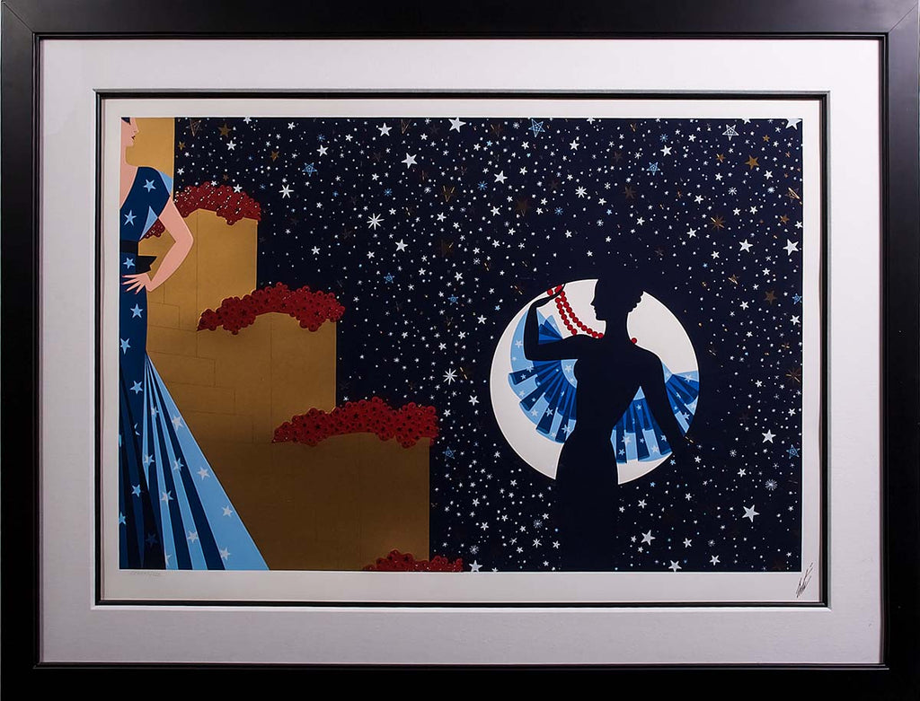 Erté_Star_ Spangled_ Night