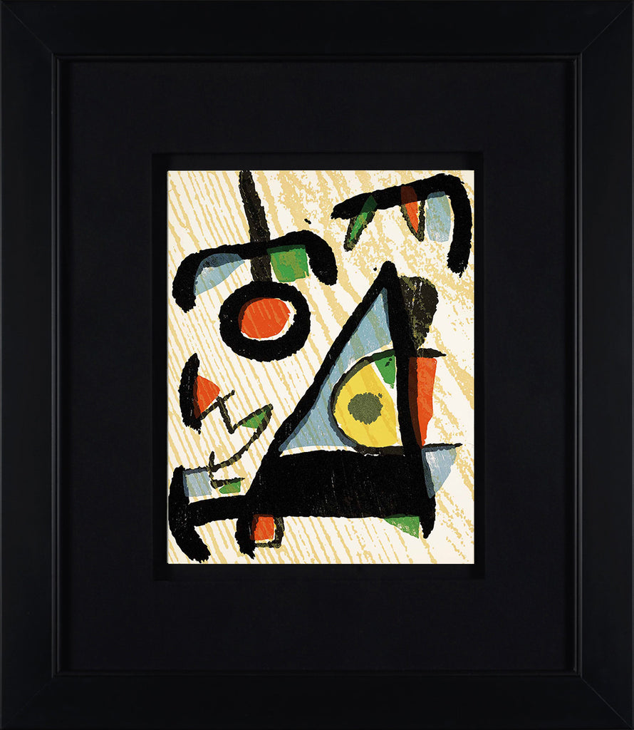 Untitled (D.1291, Miro Graveur Volume II)