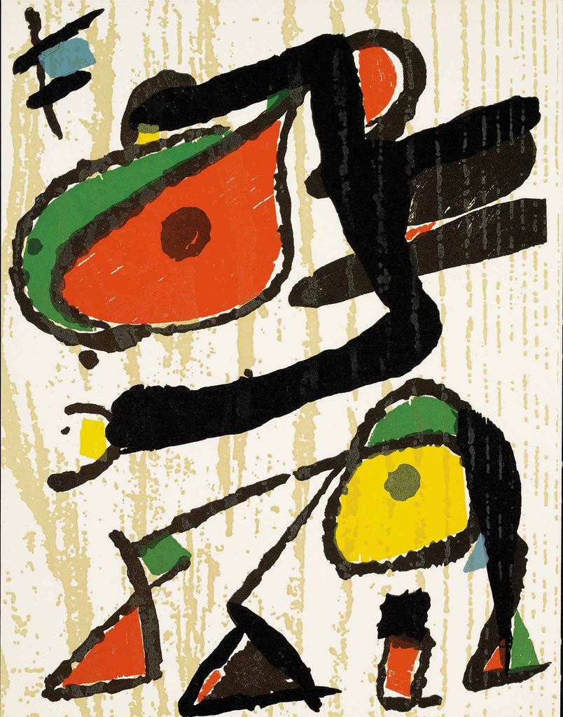 Untitled (D.1293, Miro Graveur Volume III)