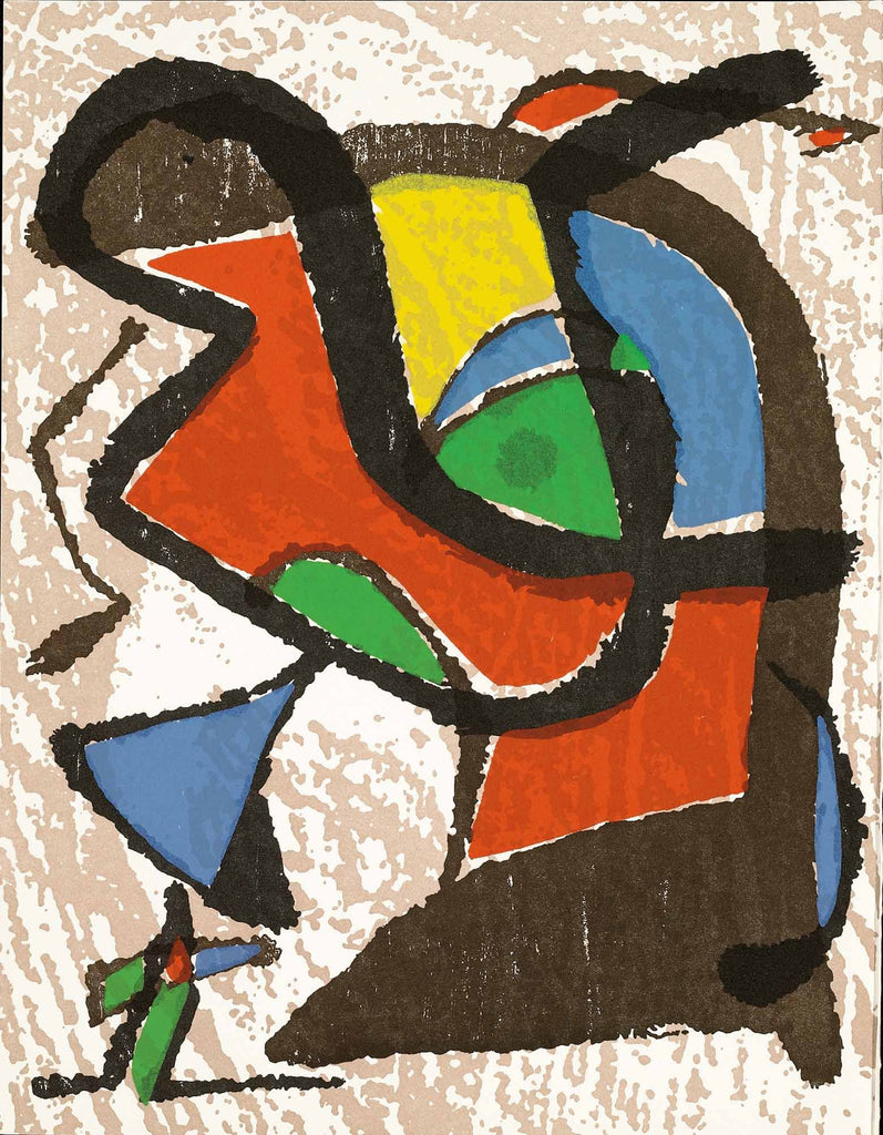 Untitled (Miró Graveur Volume I, D.1289)