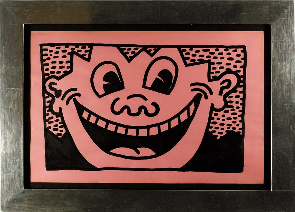 Untitled, 1981 (Smiley Face, pink)