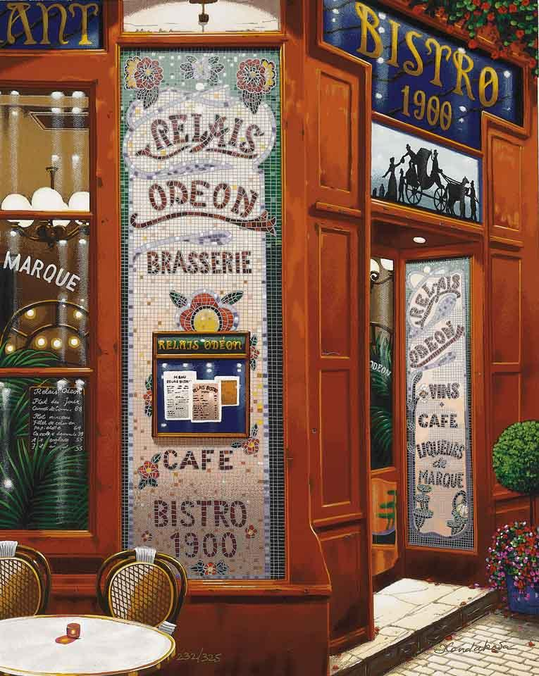 Brasserie (Postcards from Paris)