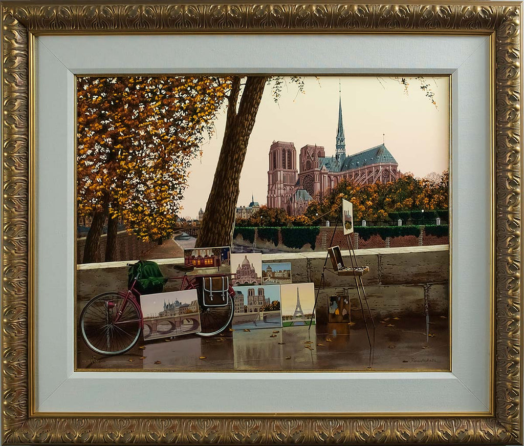 Liudmila_Kondakova_Autumn_on_the_Seine