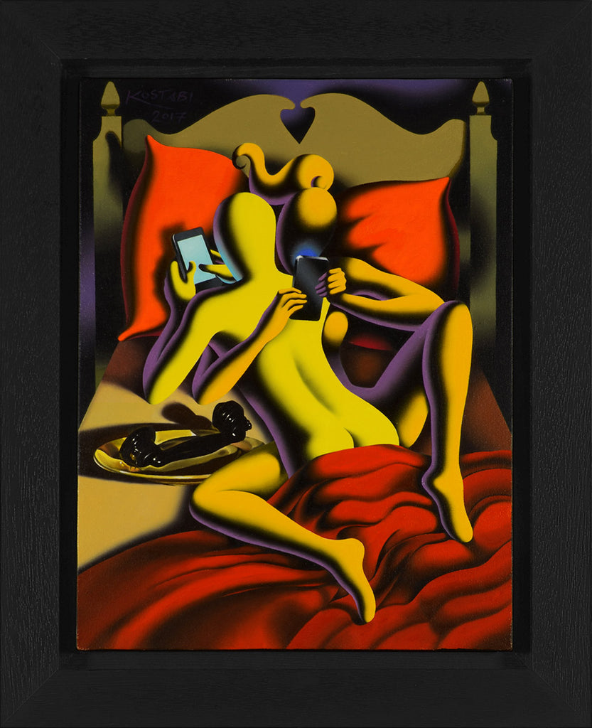 Mark_Kostabi_Precursor_Framed