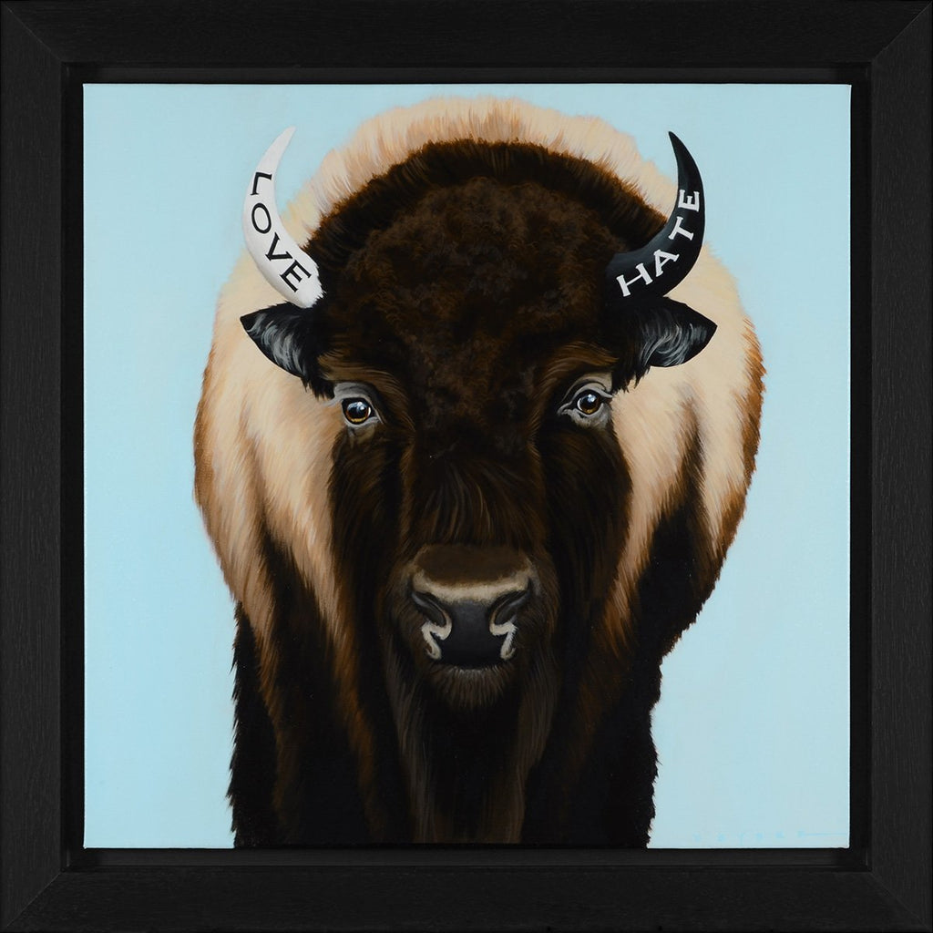Love & Hate are Two Horns on the Same Bison