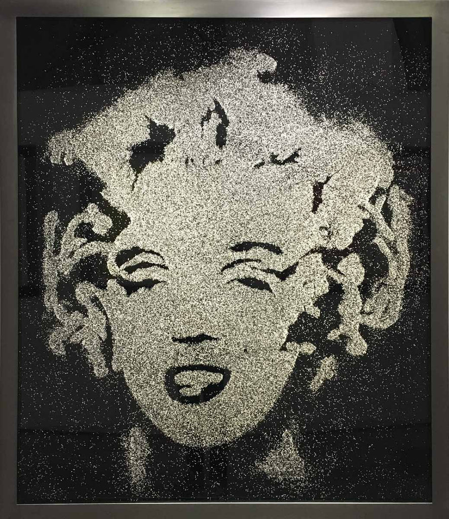 Black Marilyn (Pictures of Diamond Dust)