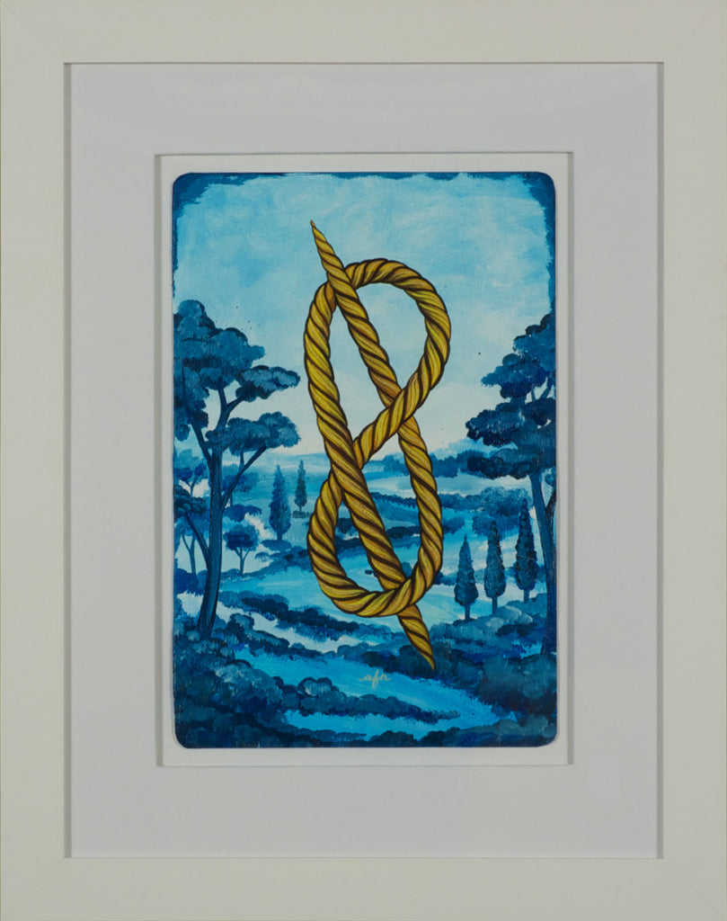 Knot Over Blue Utopia (Right)