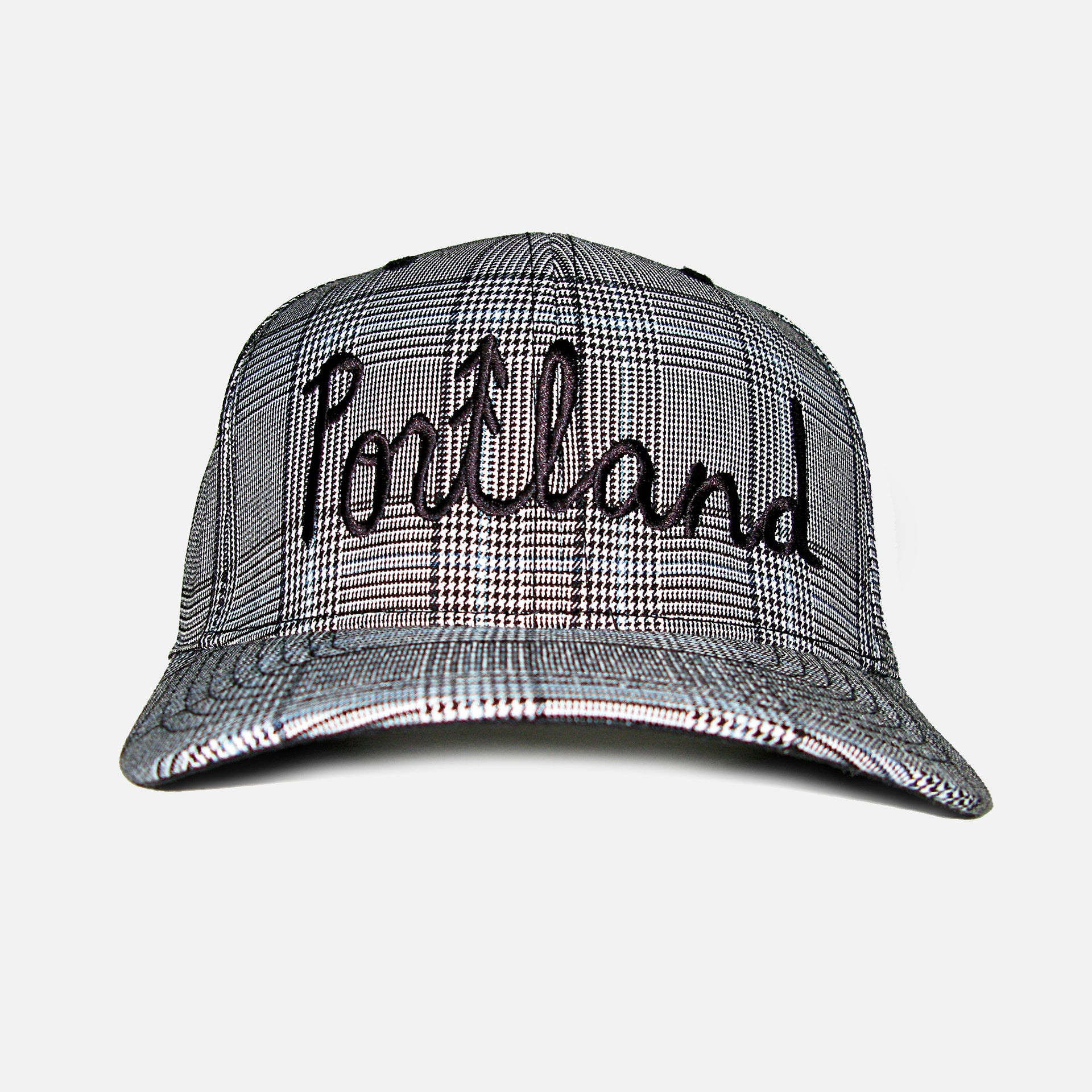 Portland Check Hat (Flex-Fitted)
