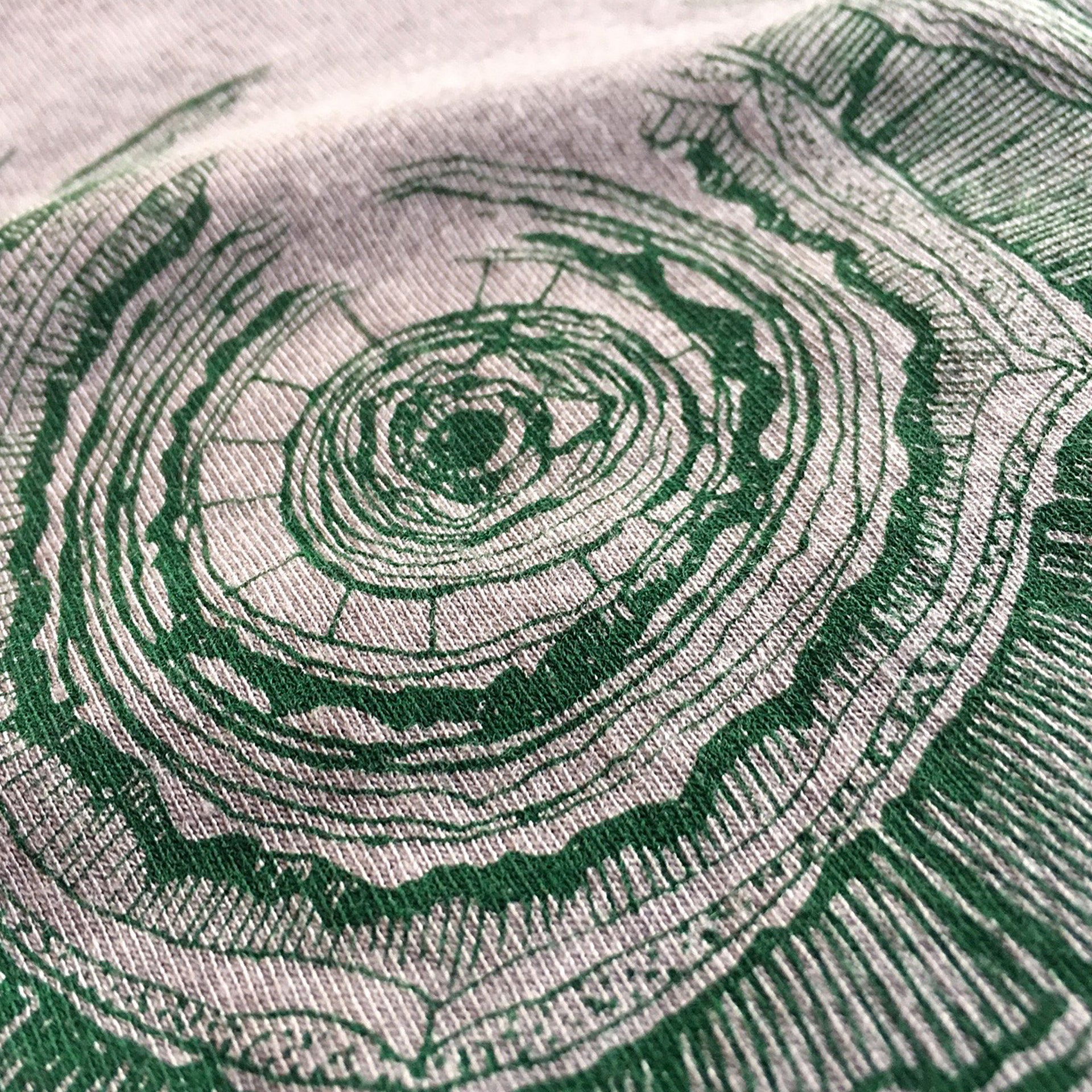 Oregon Tree Rings Shirt