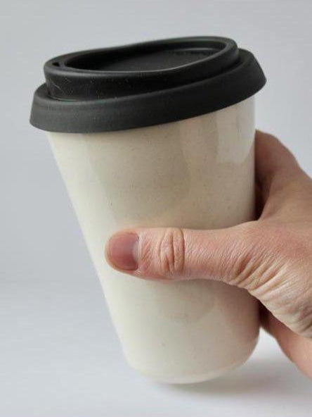 Jaw Pottery To-Go Cup 12oz.-Housewares - Ceramics-Sattva Boutique