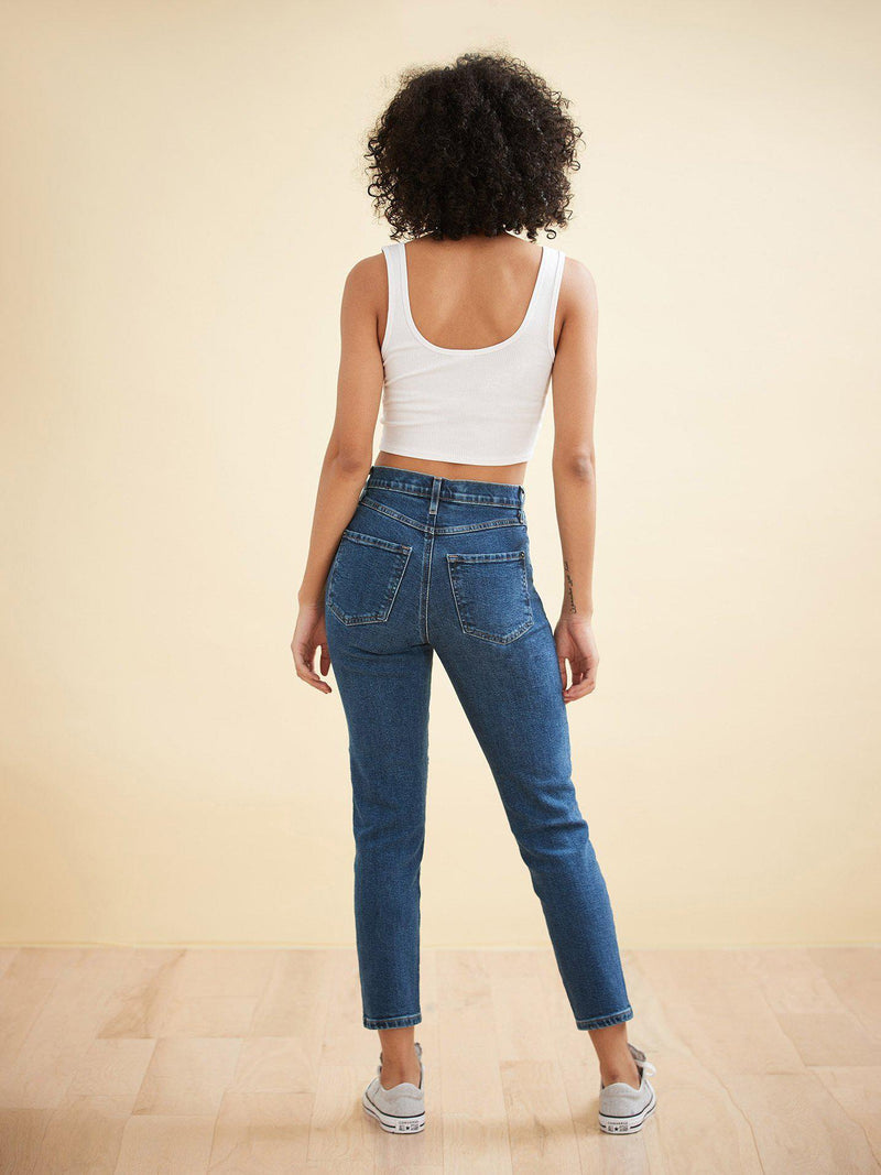 Barbuda High-Rise Slim Leg-Yoga Jeans-Sattva Boutique