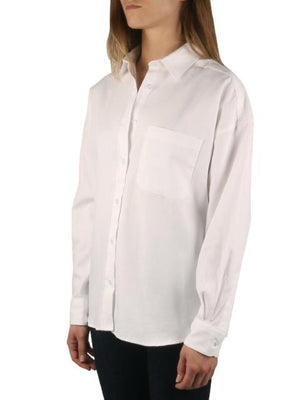 Naked and Famous Oxford Easy Shirt-Clothing - Tops-Sattva Boutique