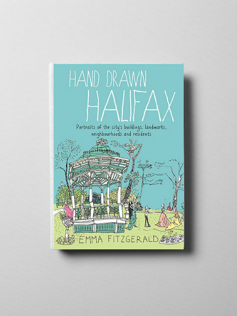 Hand Drawn Halifax by Emma Fitzgerald-Emma Fitzgerald-Sattva Boutique