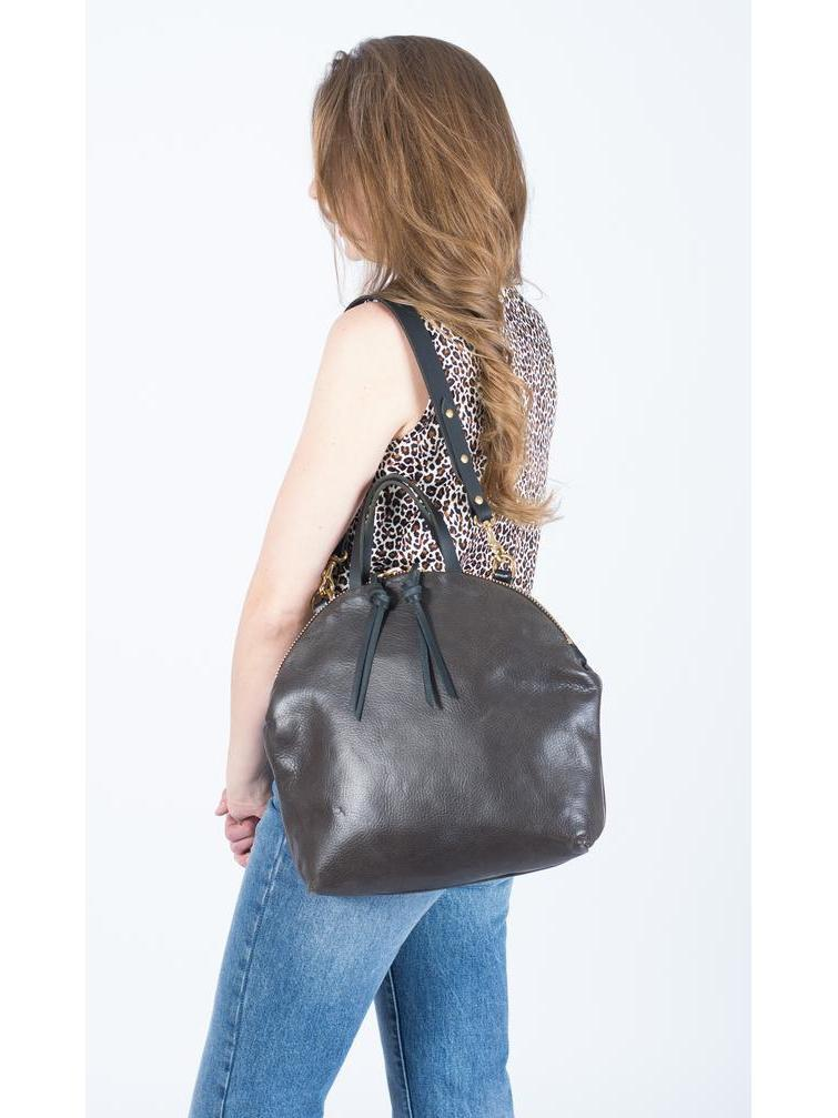 Eleven Thirty Anni Large Bag / Steel-Bags - Cross Body-Sattva Boutique