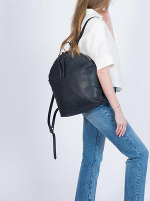 Eleven Thirty Anni Large Backpack / Black-Bags - Backpack-Sattva Boutique