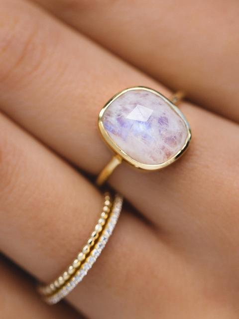 Leah Alexandra Aura Ring-Jewerly - Rings-Sattva Boutique
