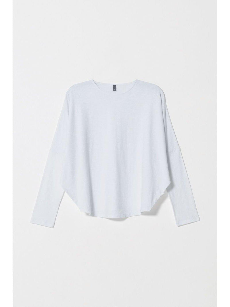 Bries Cotton Tee White-ELK-Sattva Boutique