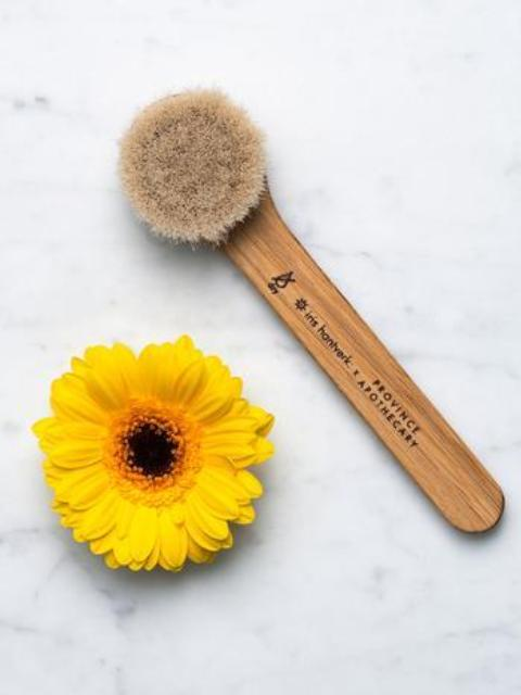 Province Apothecary Facial Dry Brush-Beauty - Skin Care-Sattva Boutique