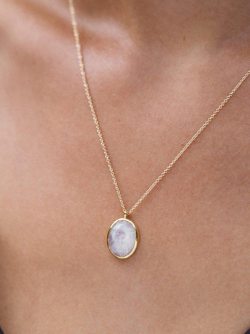 Cameo Necklace-Jewerly - Necklace-Sattva Boutique
