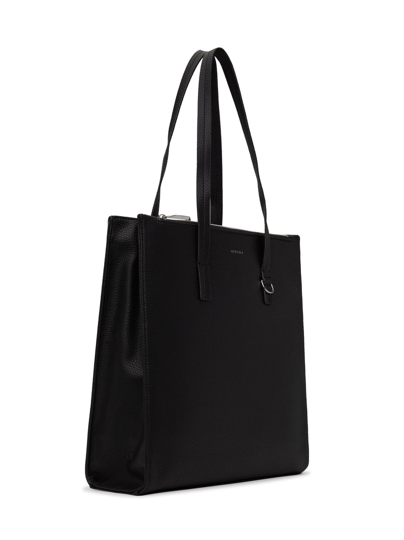 Canci Tote Black-Matt and Nat-Sattva Boutique