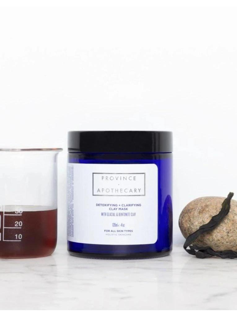 Detoxifying + Clarifying Clay Mask-Province Apothecary-Sattva Boutique