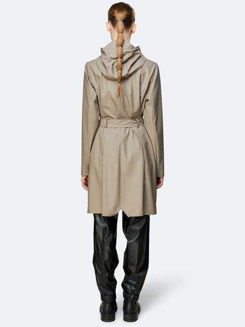 Curve Rain Jacket Taupe-Rains-Sattva Boutique