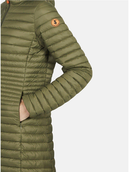Save the Duck Women's Hooded Coat-Clothing - Outerwear - Light Outerwear-Sattva Boutique