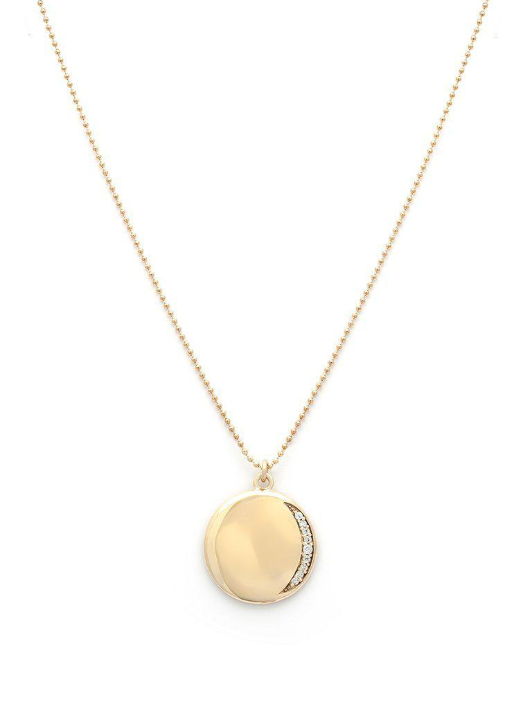 Leah Alexandra Eclipse Necklace-Jewerly - Necklace-Sattva Boutique