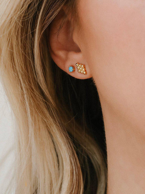 Florence Studs-Jewerly - Earrings-Sattva Boutique