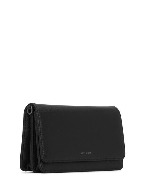 Bee Crossbody Bag Black-Matt and Nat-Sattva Boutique