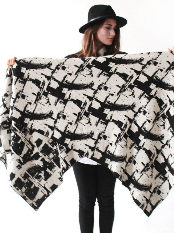 Krista Norris Maverick Shawl-Accessories - Scarves-Sattva Boutique